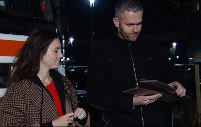 Trucker Rob kiest een kentekenplaat met de naam van zijn favoriete date en geeft die aan Gwen van Poorten. Met deze dame gaat hij verder.