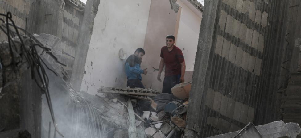 Rust keert terug langs de grens van Israël en Gaza