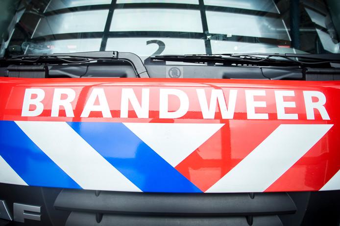 De brandweer moest gisteravond uitrukken voor een brand in Capelle aan den IJssel.