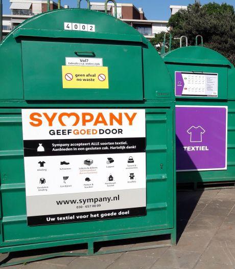 Cure vervangt kledingcontainers Geldrop-Mierlo wegens diefstallen