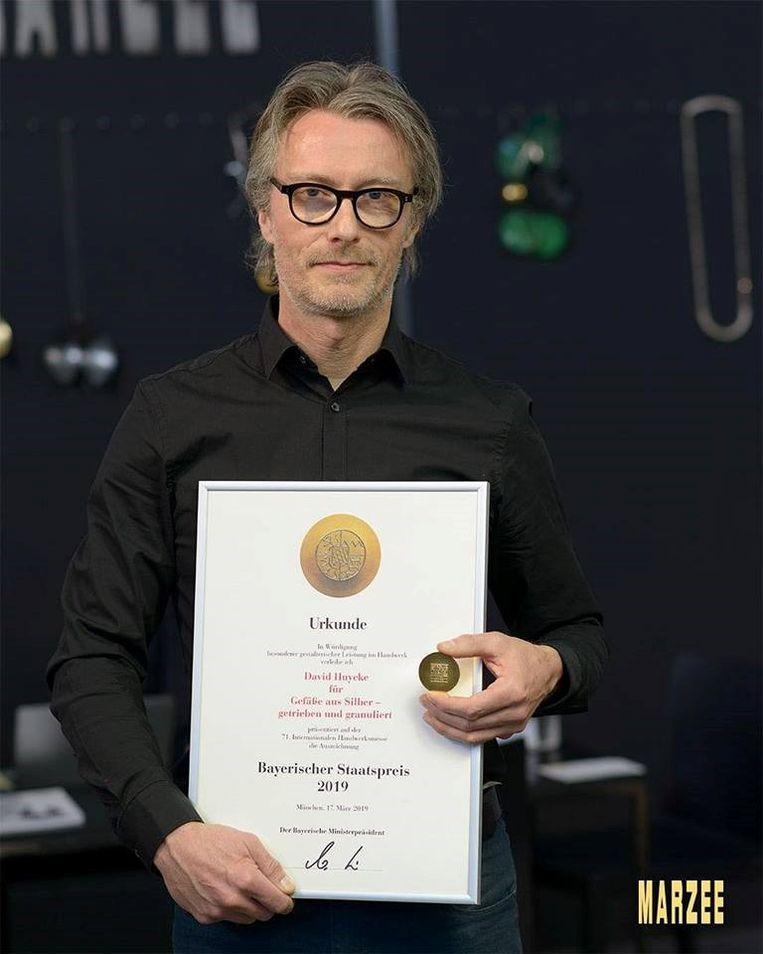David Huycke  wordt gezien als één van de meest vernieuwende zilverkunstenaars van deze tijd.