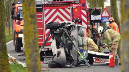 Man gewond na alweer zware klap langs de Kemmelseweg