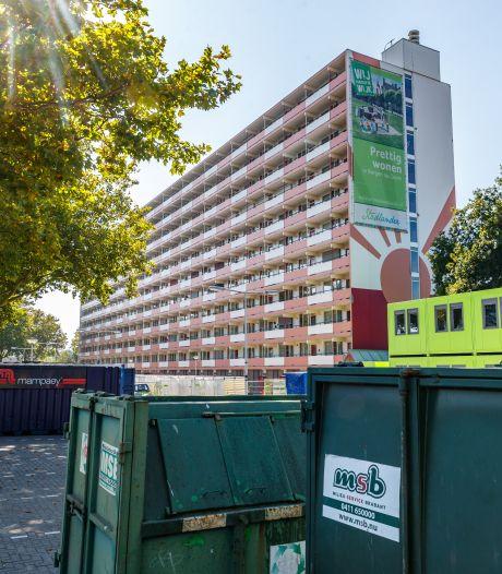 Grondige renovatie flatgebouw aan de Wierlaan