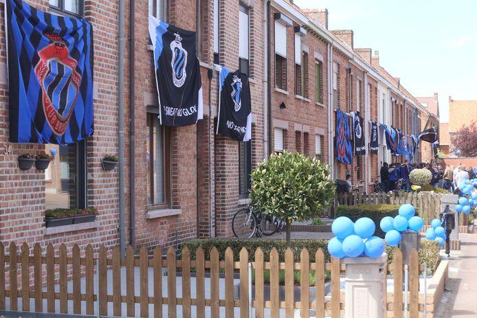 Dat buurtbewoners ook trots kunnen zijn op de aanwezigheid van het stadion, werd bewezen tijdens de kampioenenviering van Club Brugge