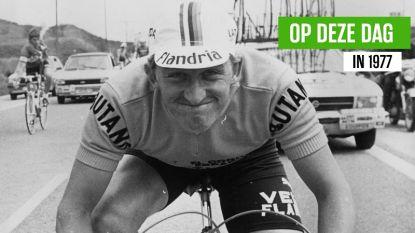 Een unicum in de wielergeschiedenis: exact 43 jaar geleden won Freddy Maertens de Vuelta na 13 ritzeges