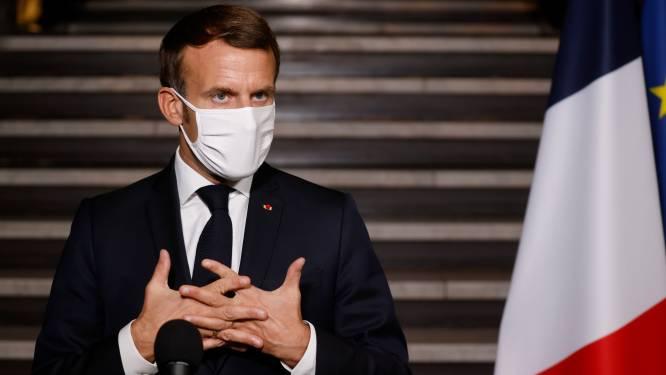 """Macron na onthoofding nabij Parijs: """"Acties tegen radicale islam worden opgedreven"""""""