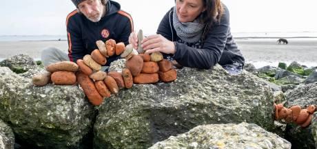 Middelburgers brengen stenen kunstig met elkaar in balans