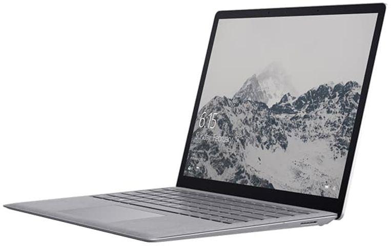 De nog steeds krachtige eerste versie van de Surface Laptop heeft nu een prijs van iets meer dan 1.000 euro.