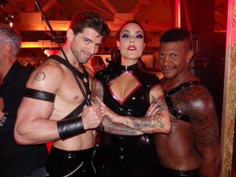 Chanan, Nereida (artiestennaam: Deadly Sin) en Gil Souza Beeld Schuim