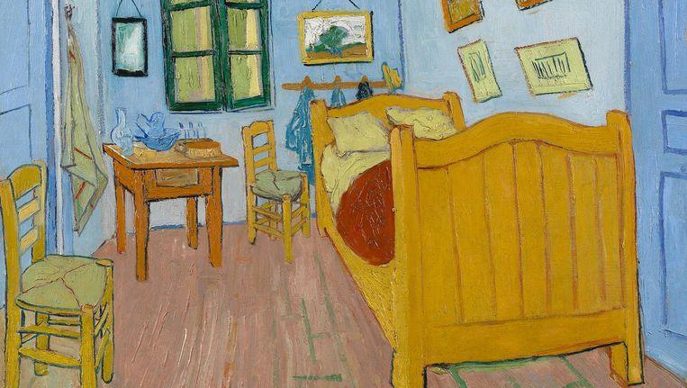 'The Bedroom' Beeld Vincent van Gogh