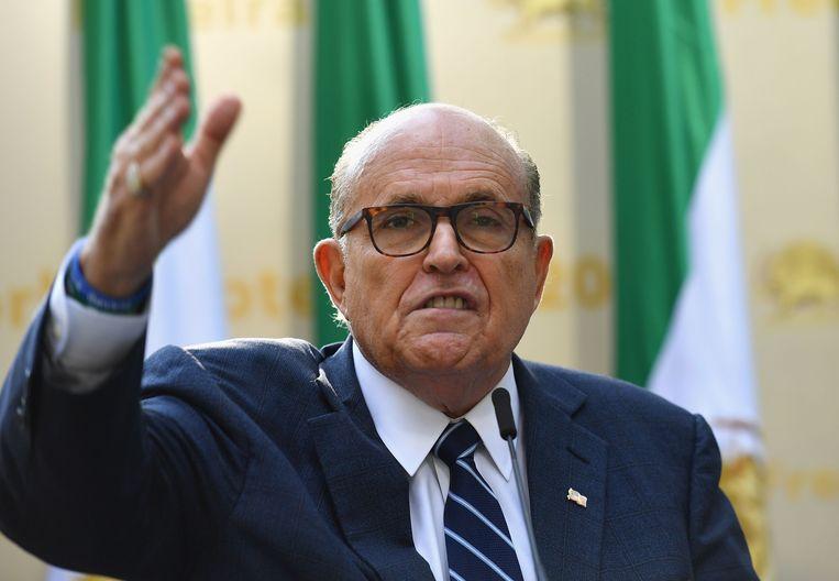Rudy Giuliani. Beeld Reuters.