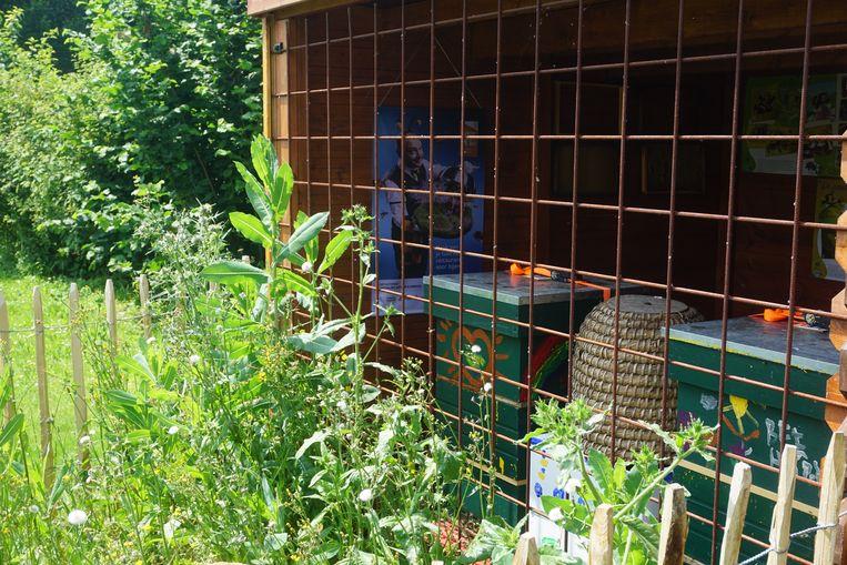 De bijenhal op de Oostmolensite in Gistel