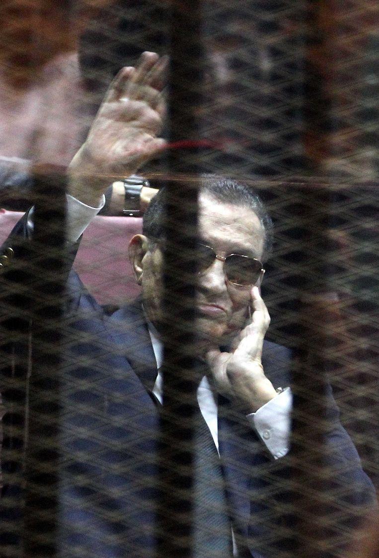 Hosni Mubarak Beeld epa