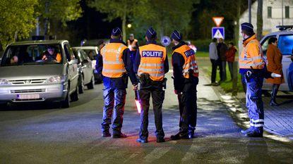 Grootschalige politiecontrole in Oost- en West-Vlaanderen