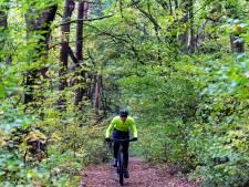 Vignet nodig om te mountainbiken op Kalmthoutse Heide