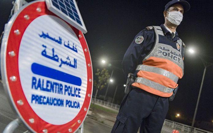 Politie in Marokko. Foto ter illustratie.