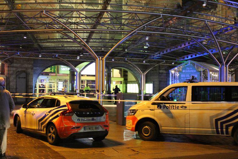 Station Gent-Sint-Pieters afgesloten na schietincident.