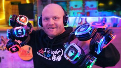 Chalethouder kerstmarkt pakt met silent disco uit
