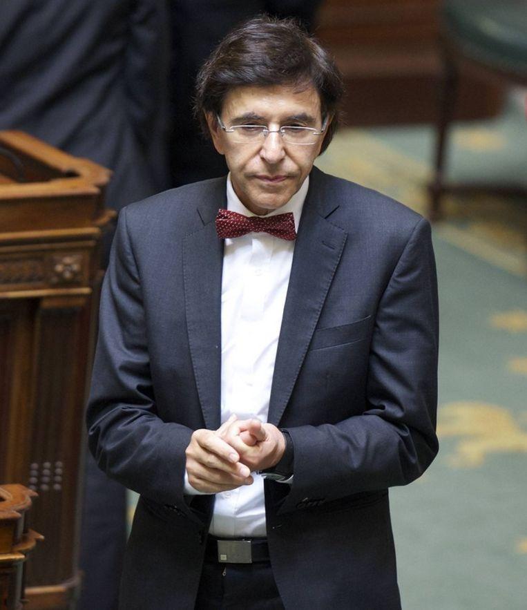 PS-voorzitter Elio Di Rupo.
