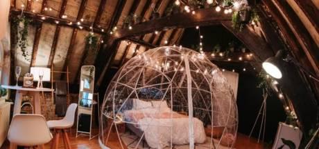 Trois bulles magiques pour une nuit romantique ou un repas insolite