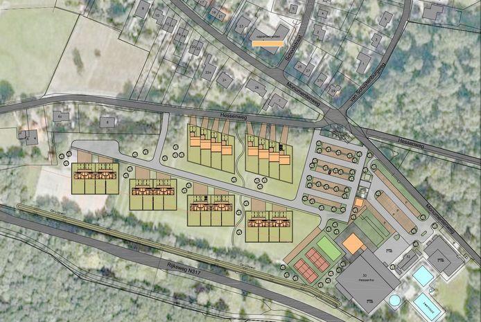 Nieuwe wijk met energieneutrale huizen in Hoog-Keppel