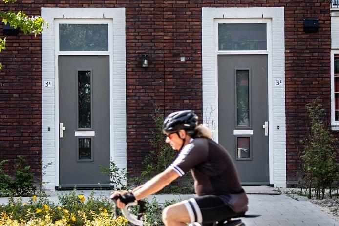 Diverse huisnummers op de Veilingweg hebben een onlogische toevoeging, eerst  3L daarna 3E.