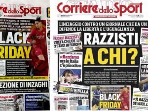 """Black Friday"" avec Lukaku et Smalling: la contre-attaque du Corriere dello Sport"