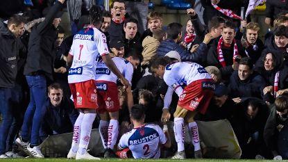 KV Kortrijk-verdediger Golubovic gewond aan beide benen nadat afsluiting het begaf in bekerpartij