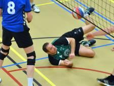 Volleyballers Haaften krijgen lek niet boven
