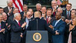 Waarom de Republikeinen zich achter Trump blijven scharen