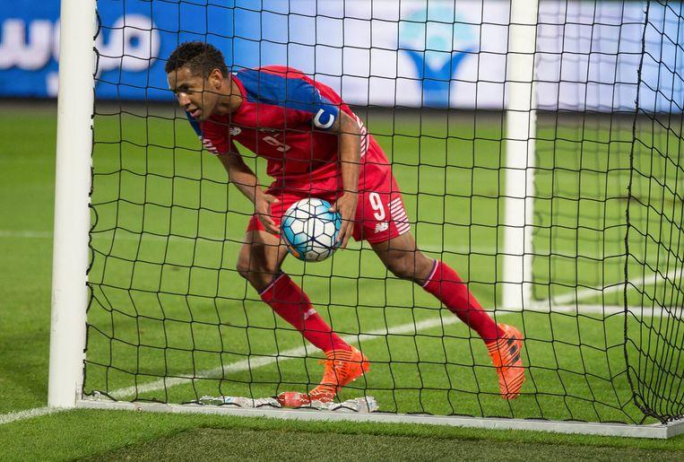 Gabriel Torres geldt als het speerpunt van Panama