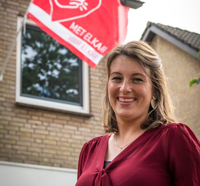 Sanne van Asselt  bedacht Heerde Help (t)!