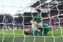 David Martin redt West Ham United tegen Chelsea