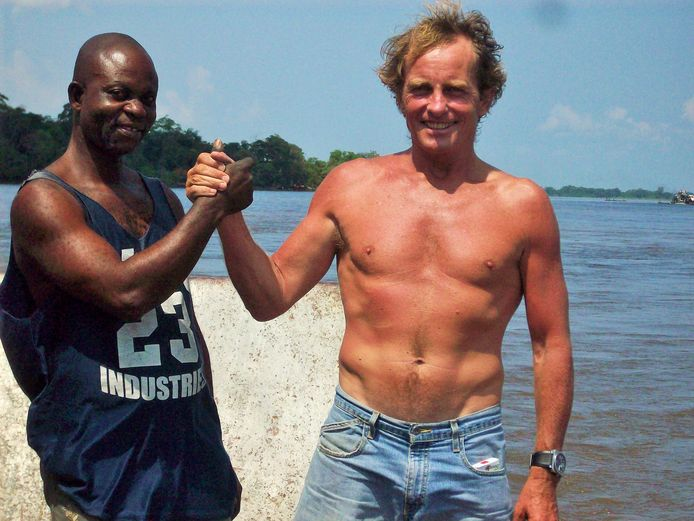 Hagenaar Roland Verbiest is eigenaar van een transportbedrijf op de Congo Rivier.