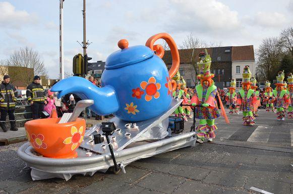 Bij De Moesjkes was er niet alleen koffie, maar ook taart en muziek.