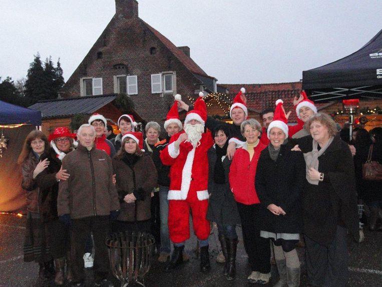 Een kerstmarkt in Goetsenhoven