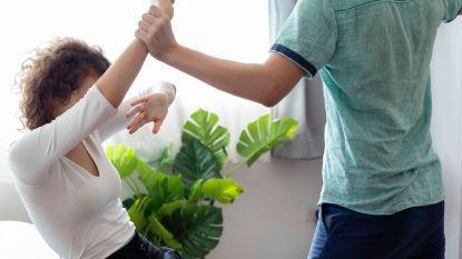 Aantal gevallen van fysiek intrafamiliaal geweld licht gestegen