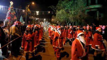 Ontroerend: voor het eerst in acht jaar vredige kerst in Syrië
