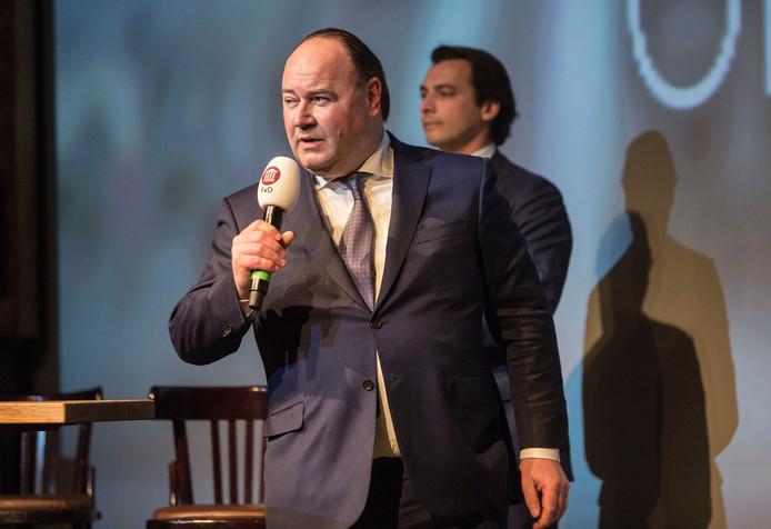 Baudet en Otten tijdens de campagne voor de Provinciale Statenverkiezingen