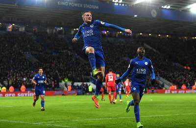 Leicester stijgt zonder Ranieri naar 15de plaats