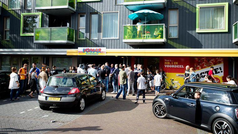 Het is weer onrustig in de Zaanse wijk Poelenburg. Beeld anp