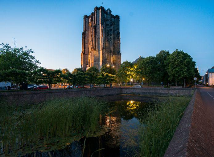 De 'dikke toren' van Zierikzee.
