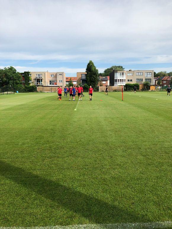 KV Mechelen staat alweer op het veld.