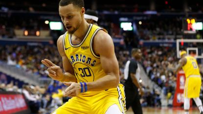 Negende zege op rij voor Golden State Warriors - Lebron James mag team uitkiezen voor All Star-wedstrijd