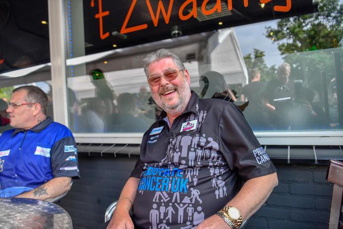 Martin 'Wolfie' Adams in Eindhoven.