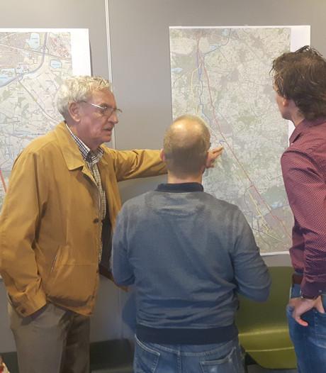 Inwoners van Vught spuien ideeën en delen bezwaren over snelfietsroutes tussen Den Bosch en Eindhoven