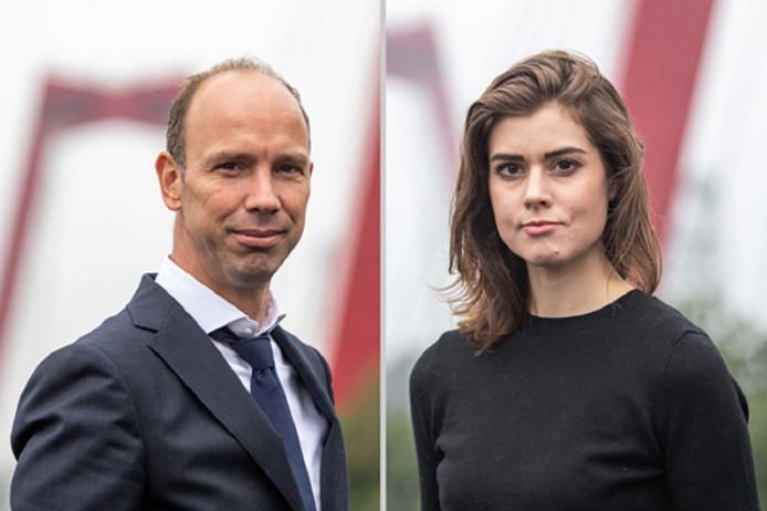 Sander Janssen en Desiree de Jonge.