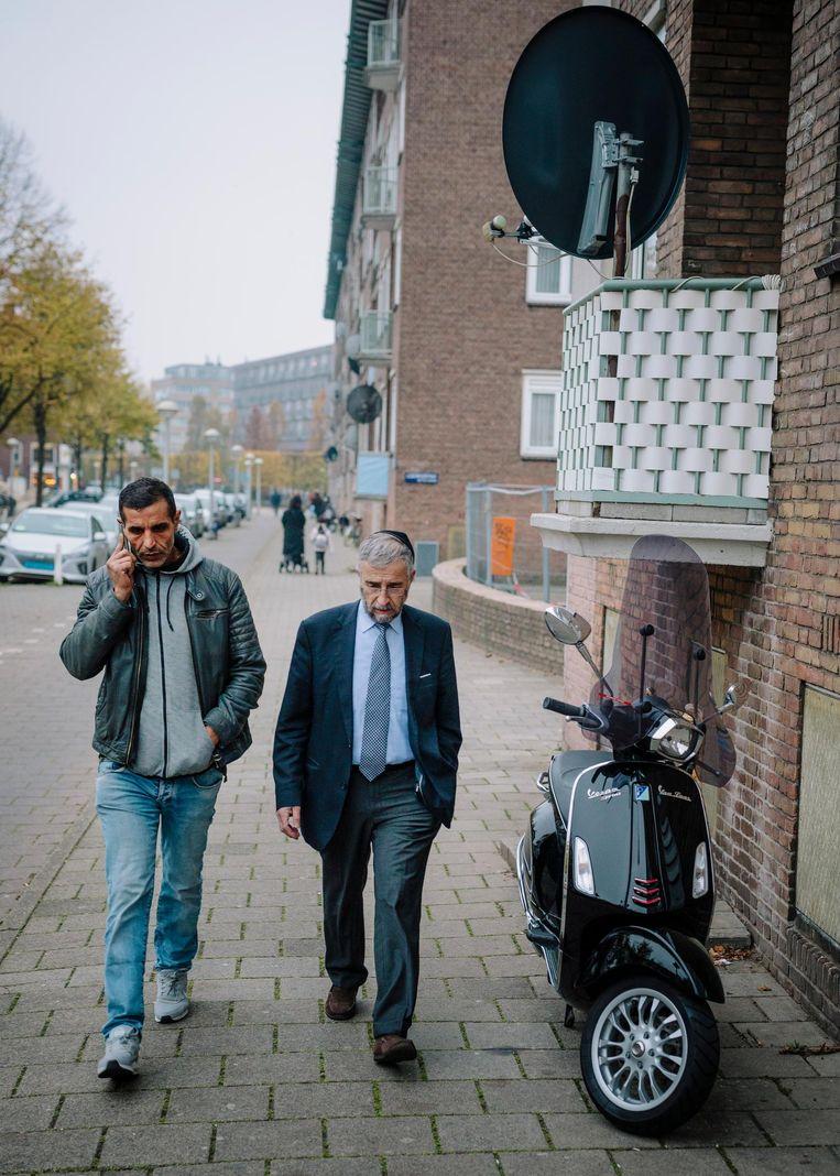 Bensellam en Van de Kamp: 'Wat wij doen, kunnen jullie ook' Beeld Marc Driessen