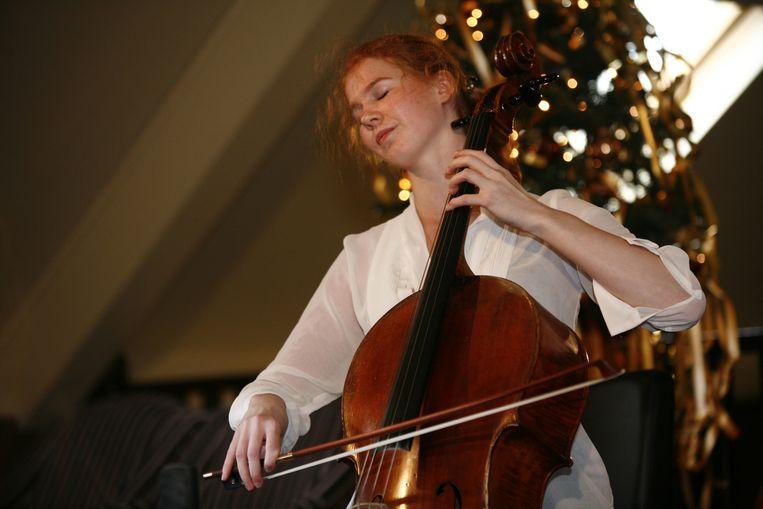 Cellist Harriet Krijgh. Beeld null