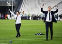 Het succes van Ajax is ook het succes van technisch directeur Marc Overmars en algemeen directeur Edwin van der Sar.